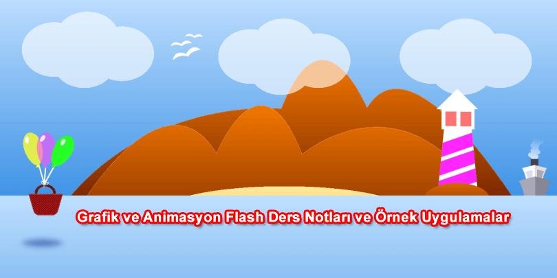 Grafik ve Animasyon Dersi Örnekleri ve Uygulamaları