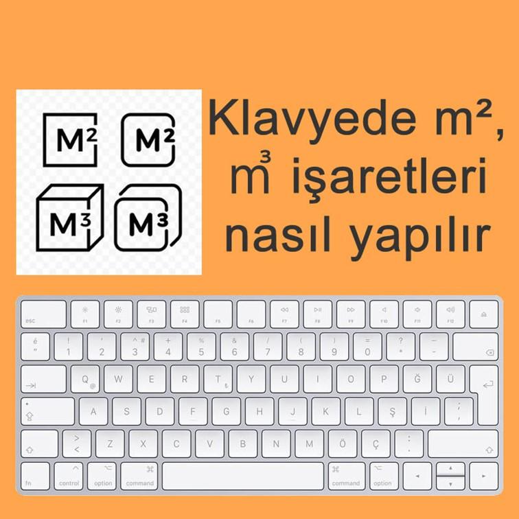 ( M² ) Metre Kare İşareti Klavyede Nasıl Yapılır?