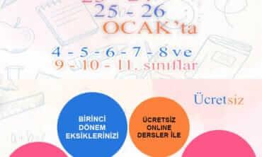 Boğaziçi Koleji  Online Sınav