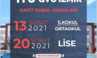 İTÜ GVO İzmir Kayıt Kabul Sınavları